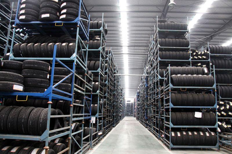 data produzione delle gomme magazzino