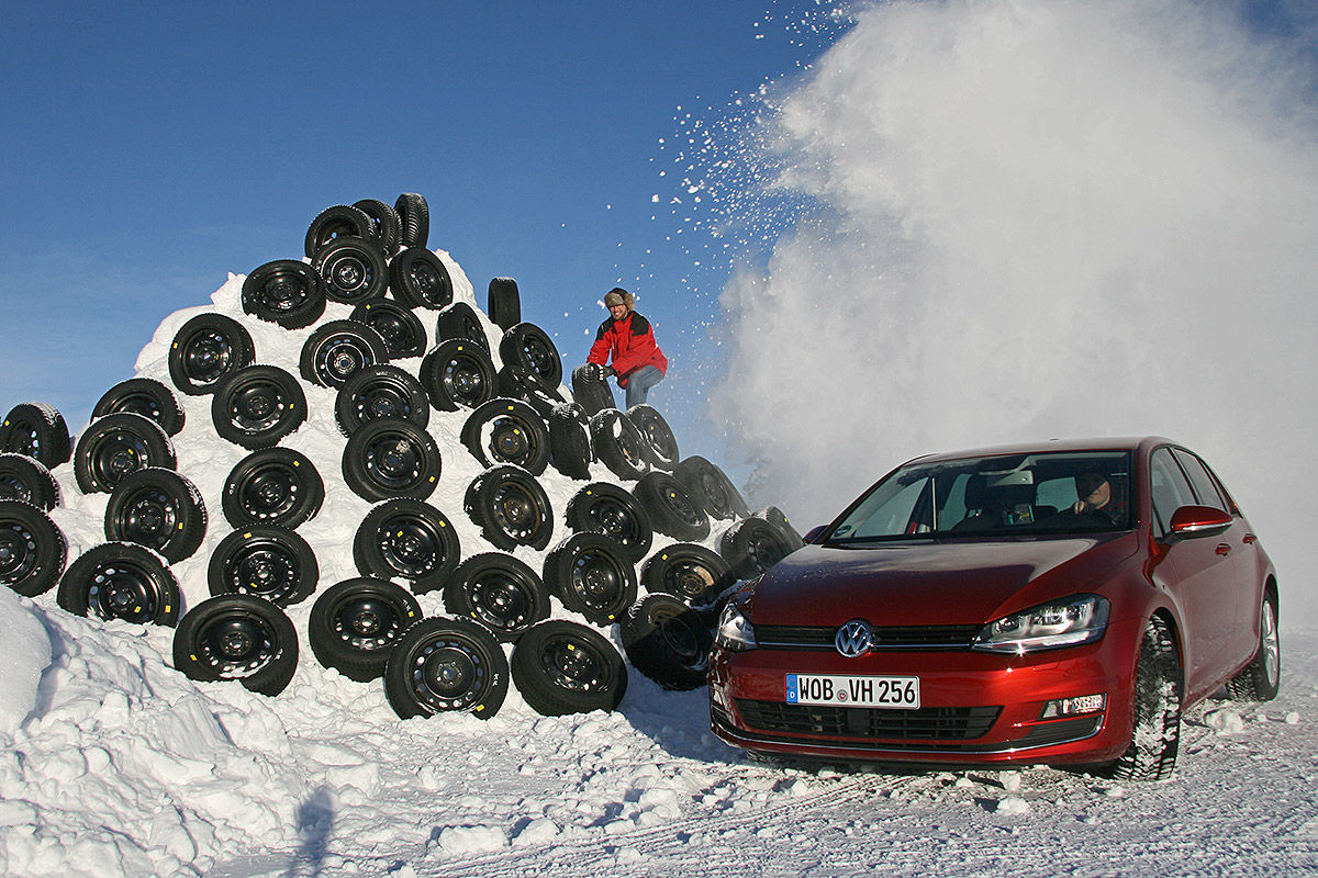 test gomme invernali 205 55r16